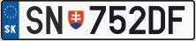 Словацький автономер купити онлайн